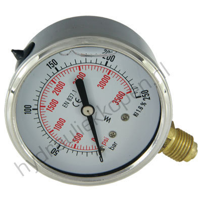 Manometers RVS