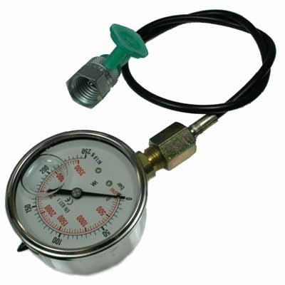 Hydrauliek drukmeter